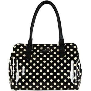 Kate Spade Polka Dot Patent Leather Shoulder Bag